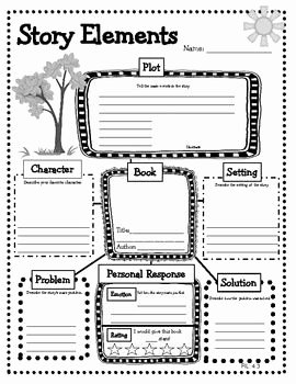 Elements Of Plot Worksheet Elegant Story Elements Mon Core Graphic organizers