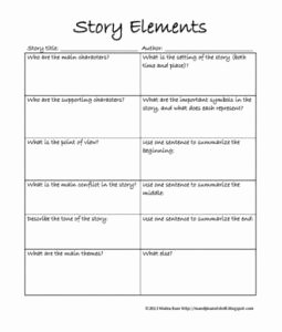 Elements Of Plot Worksheet Fresh Pin On Education Resources for Teaching and Tutoring
