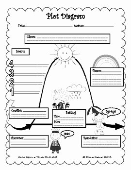 Elements Of Plot Worksheet Inspirational Free Graphic organizer Plot Diagram by How 2 Teacher