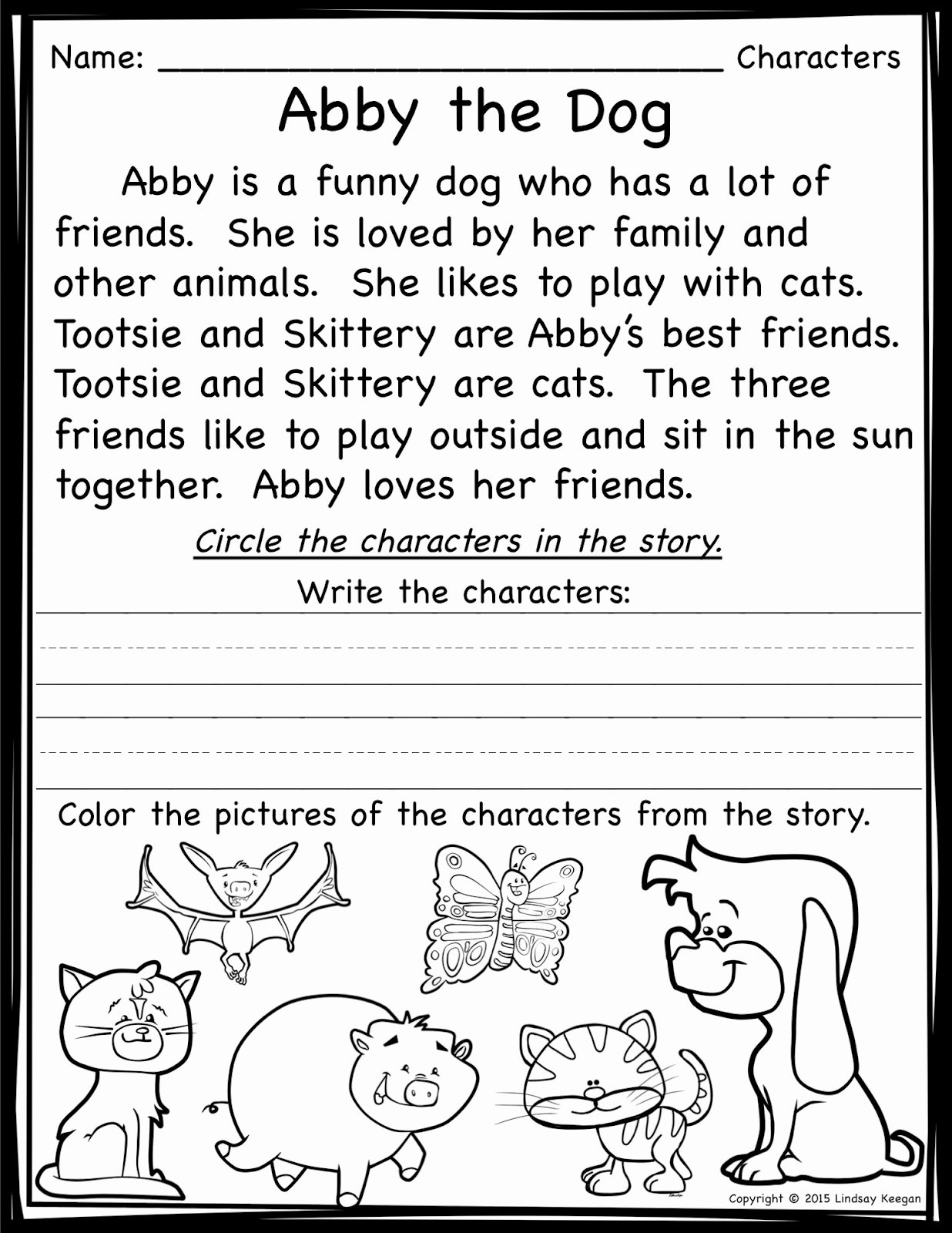 Elements Of Plot Worksheet Unique Keeping It Cool at School Teaching Story Elements and A