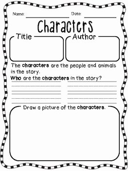 Elements Of Plot Worksheet Unique Story Elements Worksheets for Reinforcement