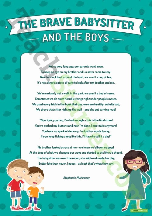 Elements Of Poetry Worksheet Awesome Elements Of Poetry Worksheet Idioms Teaching Resource