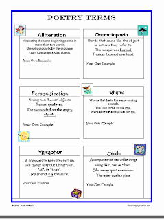 Elements Of Poetry Worksheet Awesome Innovative Connections Poetry Activities Of All sorts