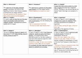 Elements Of Poetry Worksheet Luxury Worksheet Of Poetic Terms by Missrathor