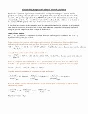 Empirical and Molecular formulas Worksheet Fresh 47 Percent Position and Molecular formula Worksheet