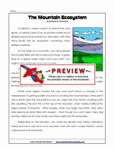 Energy Flow In Ecosystems Worksheet Lovely Ecosystem Worksheet