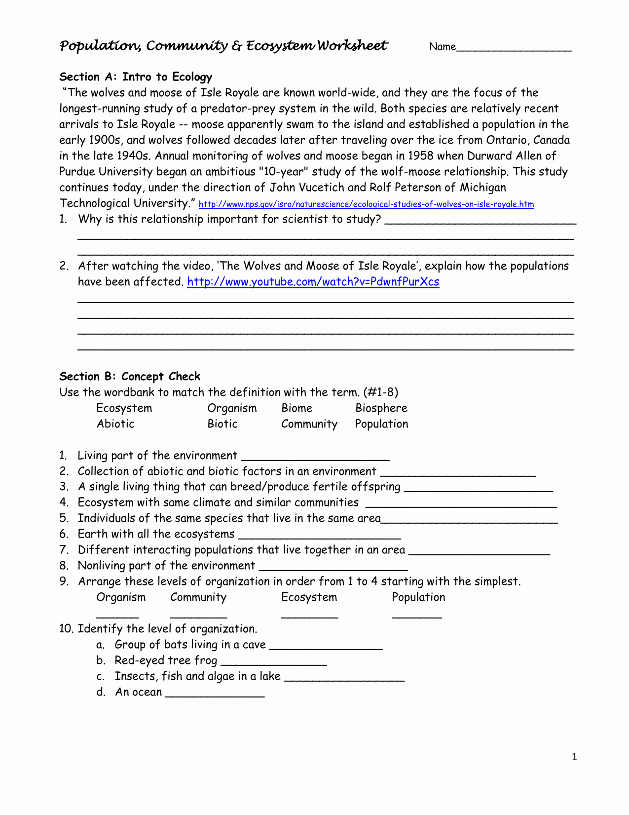 Energy Flow Worksheet Answers Best Of Energy Flow In An Ecosystem Worksheet Answers Biozone