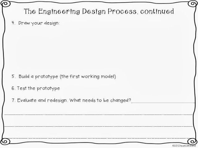Engineering Design Process Worksheet Awesome Freebie Engineering for Kids
