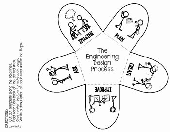 Engineering Design Process Worksheet Awesome Stem Engineering Design Process Graphic organizers for