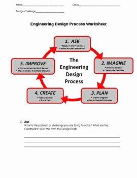 Engineering Design Process Worksheet Best Of Engineering Design Process Worksheet by Stem Doctor