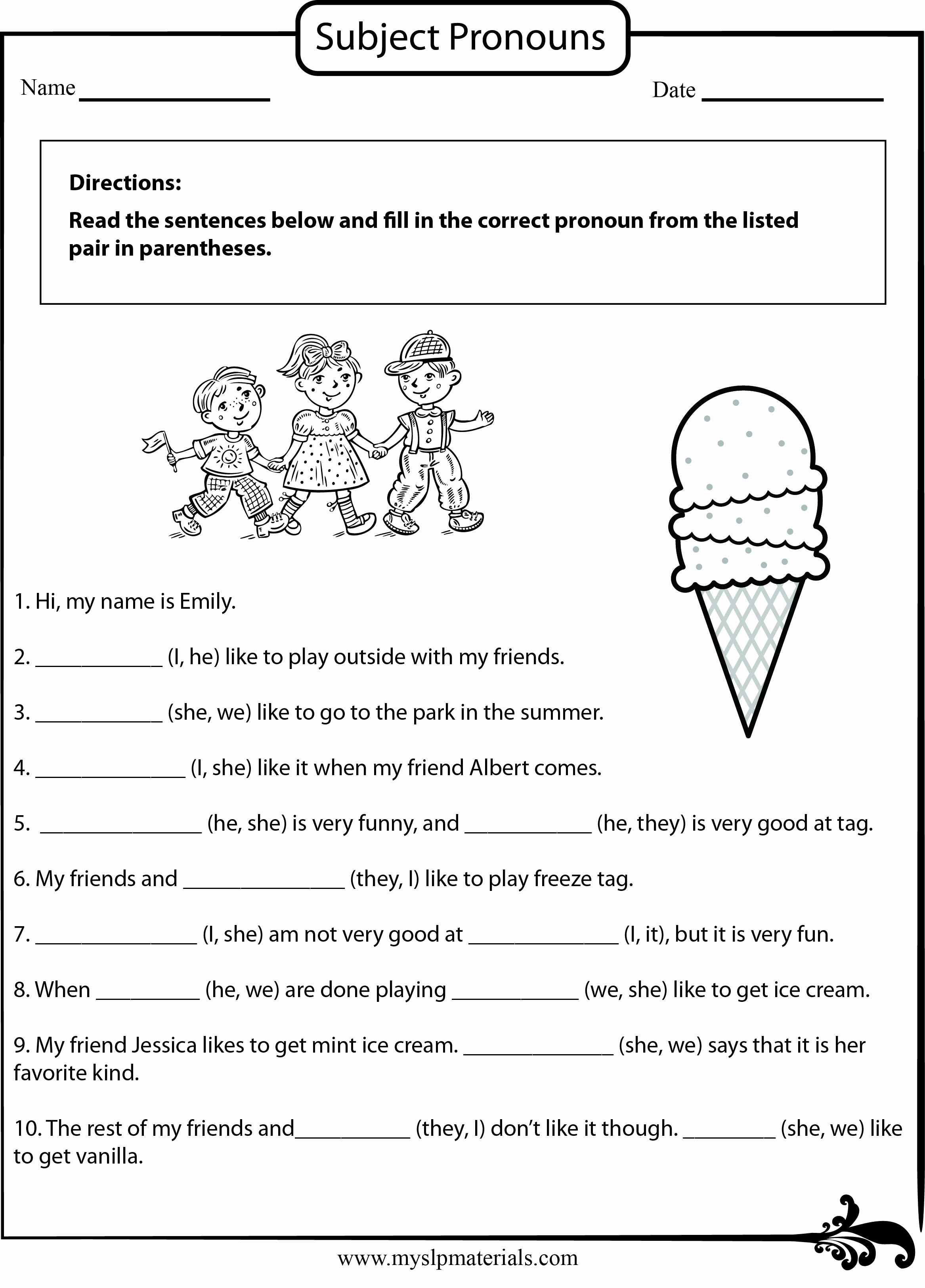 English Worksheet for Grade 2 Best Of Pin by Myslpmaterials On Myslpmaterials Free