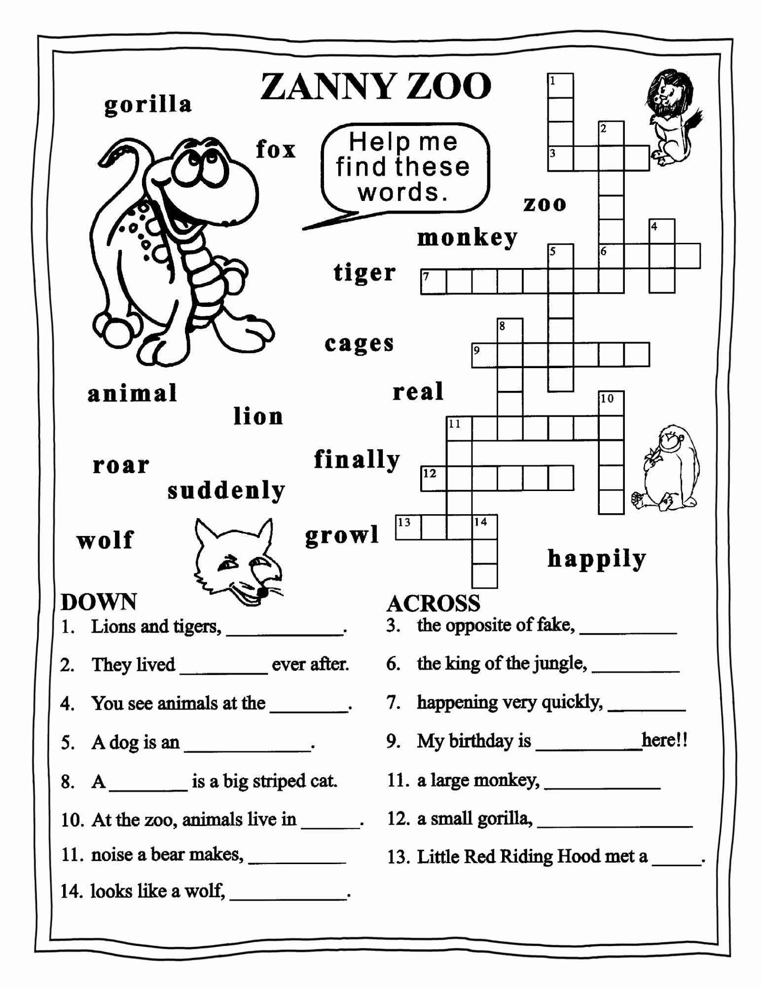 English Worksheet for Grade 2 Elegant Free Worksheets for Grade 3