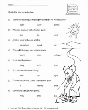 English Worksheet for Grade 2 Fresh Pin On School