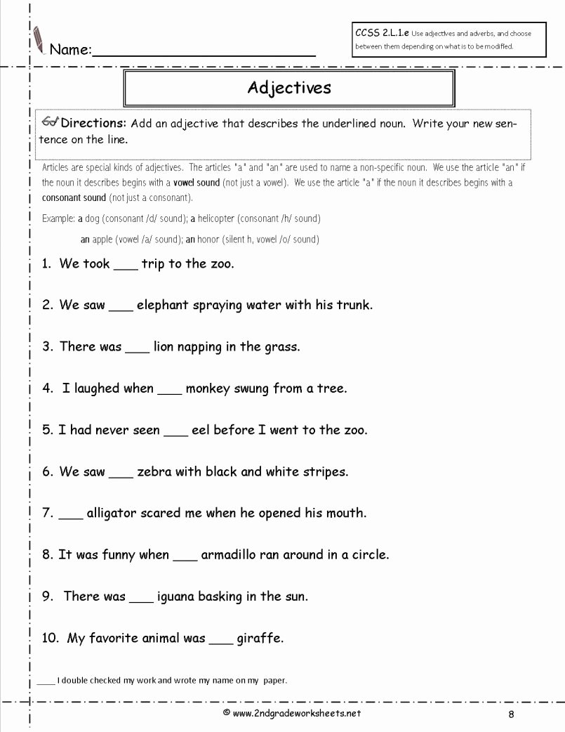 English Worksheet for Grade 2 Lovely Grade English Worksheets St Place Value Printable