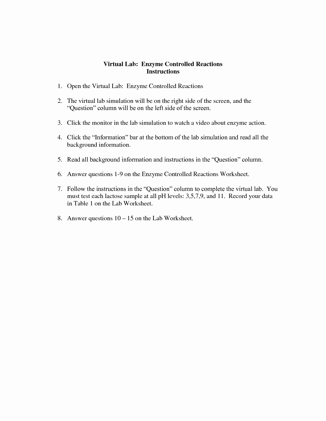 Enzyme Reactions Worksheet Answer Key Unique 15 Best Of Nuclear Chemistry Worksheet Answer Key