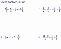 Equations with Fractions Worksheet Best Of Multi Step Equation Worksheets