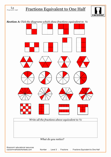Equivalent Fractions Worksheet Pdf Awesome Equivalent Fractions by Cazoommaths Teaching Resources Tes