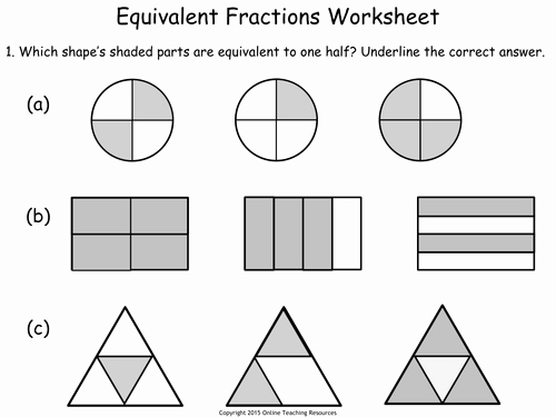 Equivalent Fractions Worksheet Pdf Fresh Ks1 Number Fractions Teaching Pack 5 Powerpoint