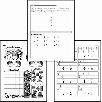Equivalent Fractions Worksheet Pdf New Free Fourth Grade Fractions Pdf Worksheets