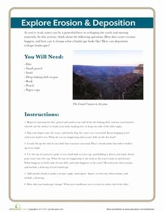 Erosion and Deposition Worksheet Fresh Moving Mountains Free English Worksheet for Kids