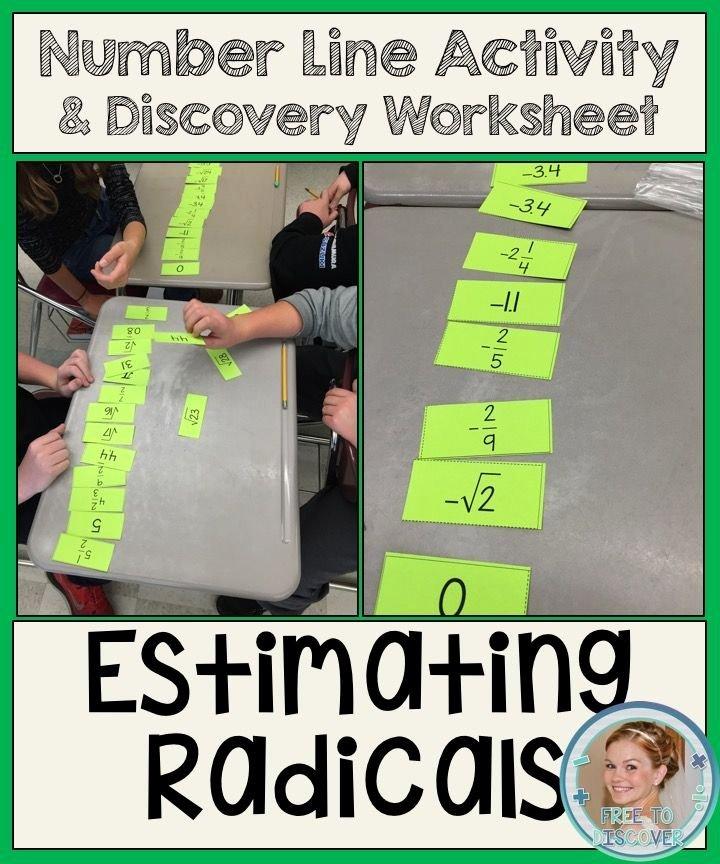 Estimating Square Root Worksheet Fresh Estimating Square Roots Discovery Worksheet and Number