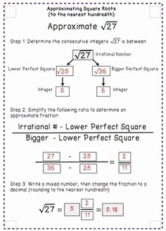 Estimating Square Root Worksheet Lovely Square Root Worksheets Find the Square Root Of whole