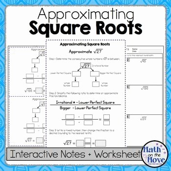 Estimating Square Roots Worksheet Lovely Best 25 Square Roots Ideas On Pinterest