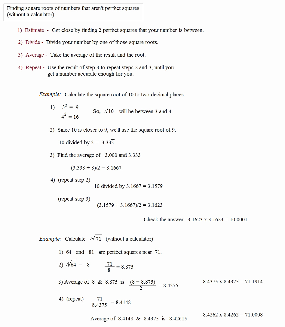 Estimating Square Roots Worksheet Luxury Math Plane Radicals