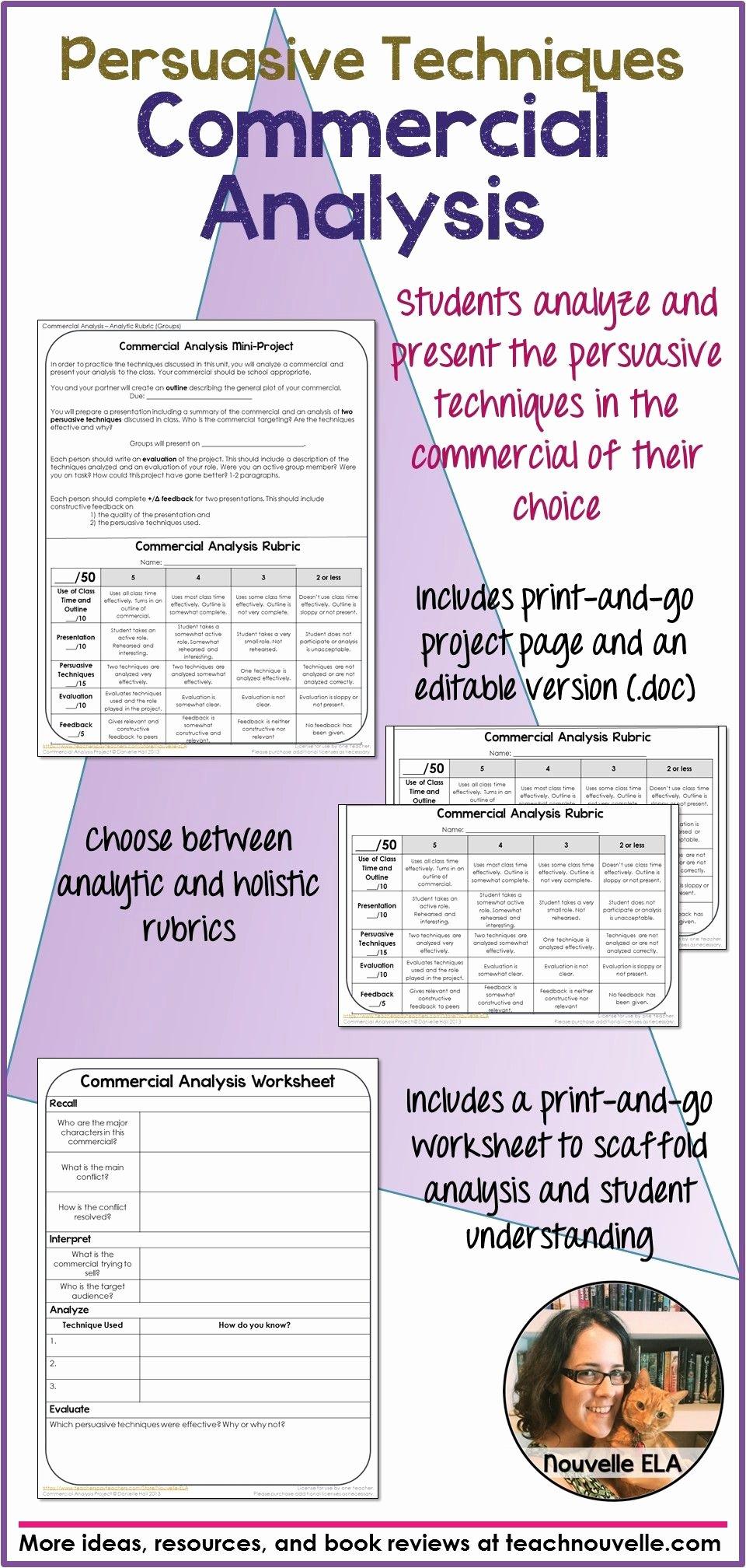 Ethos Pathos Logos Worksheet Answers New Persuasive Language Using Ethos Pathos and Logos Worksheet