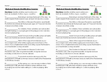 Ethos Pathos Logos Worksheet Elegant Rhetorical Triangle Ethos Logos Pathos Quick Worksheet