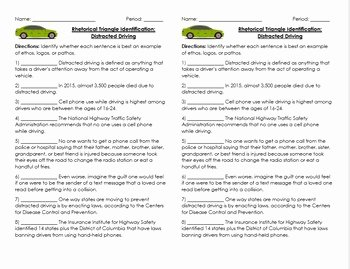 Ethos Pathos Logos Worksheet Lovely Rhetorical Triangle Ethos Logos Pathos Quick