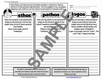 Ethos Pathos Logos Worksheet Lovely Writing Resources From Lightbulb Minds