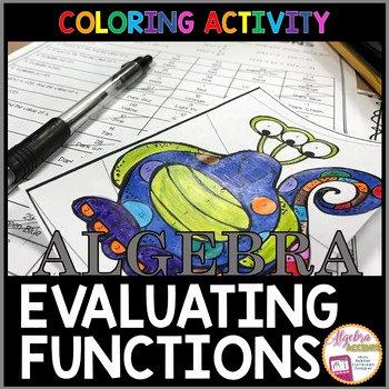 Evaluating Functions Worksheet Algebra 1 Elegant Algebra Accents Teaching Resources