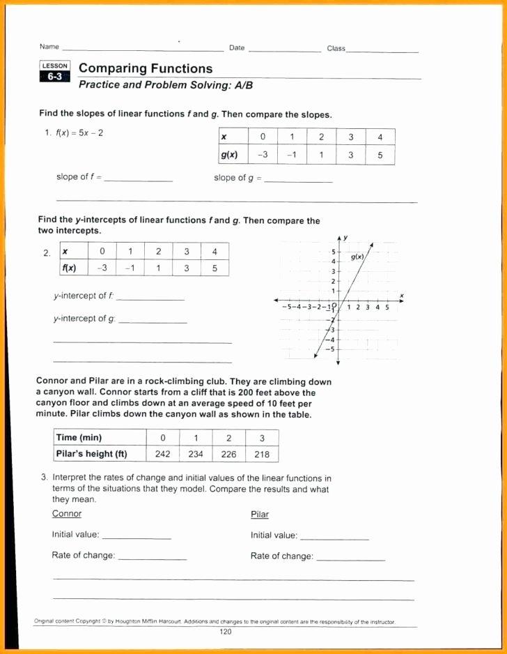 Evaluating Functions Worksheet Algebra 1 Elegant Worksheet Algebra 1 Evaluating Functions Multiple