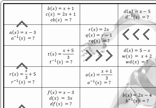 Evaluating Functions Worksheet Pdf Inspirational Goteachmaths