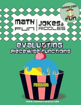 Evaluating Piecewise Functions Worksheet Beautiful Mon Core Fun Teaching Resources
