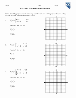 Evaluating Piecewise Functions Worksheet Beautiful Piecewise Functions and Greatest Integer Function