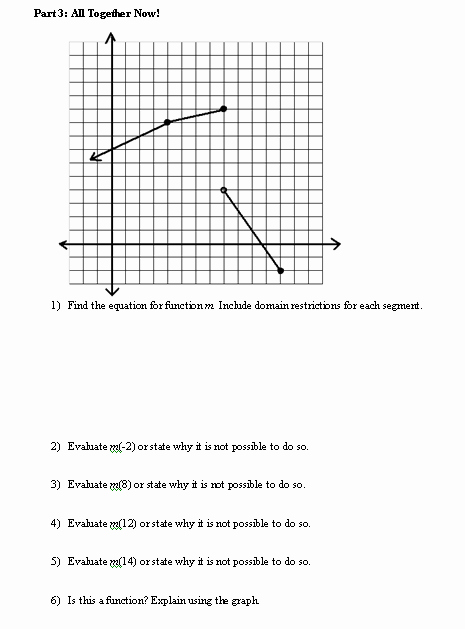Evaluating Piecewise Functions Worksheet Lovely I Hope This Old Train Breaks Down Piecewise Functions