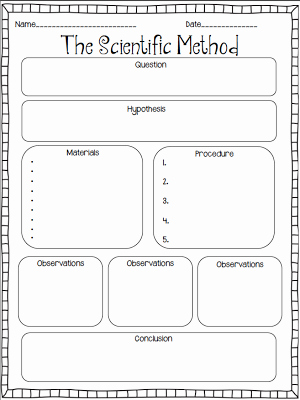 Experimental Design Worksheet Scientific Method Inspirational Scientific Method Experiments On Pinterest
