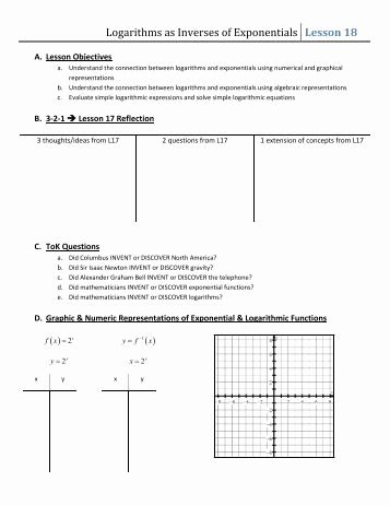 Exponential Function Word Problems Worksheet Inspirational Exponential and Logarithmic Word Problems Worksheet