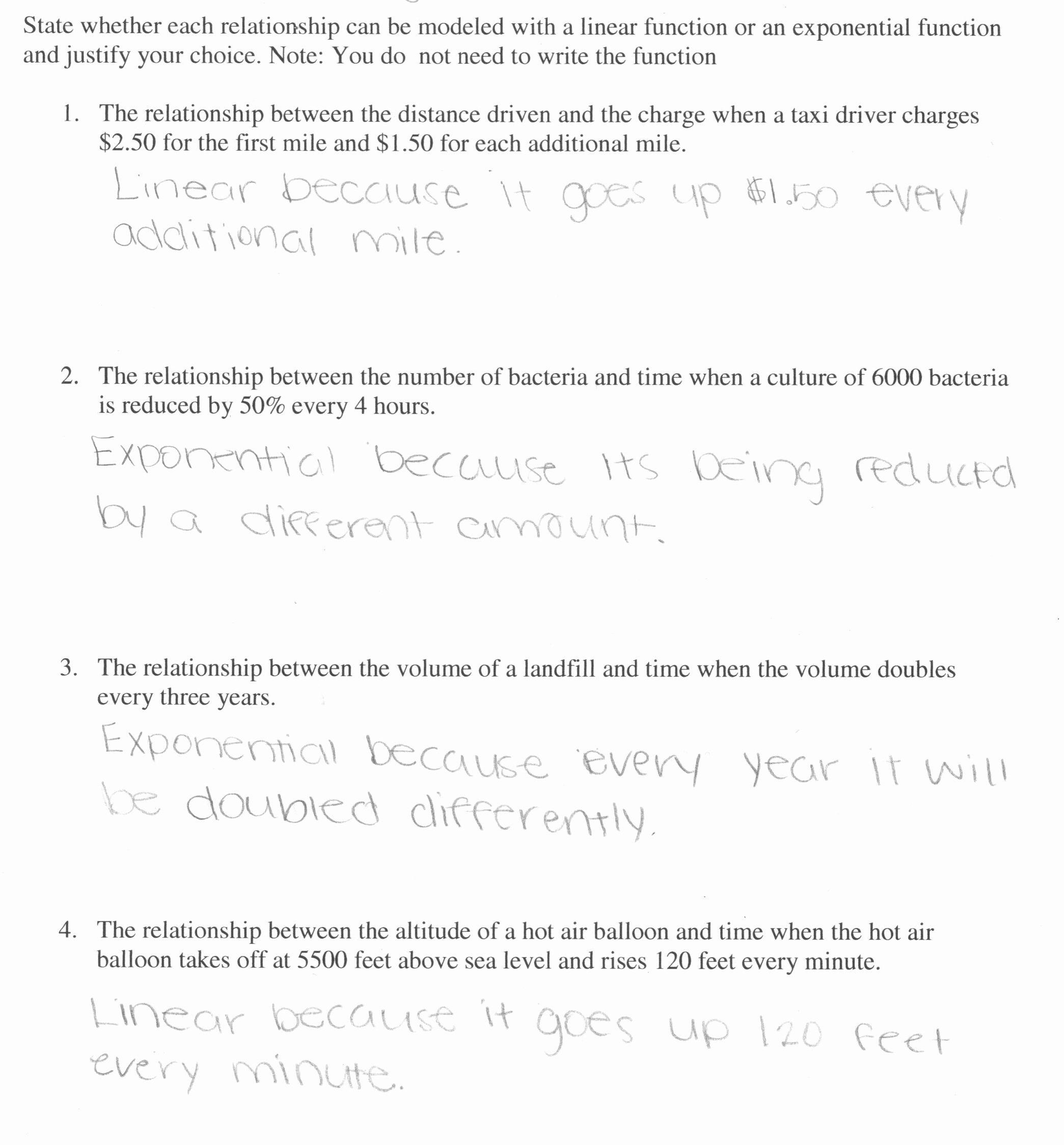 Exponential Function Word Problems Worksheet Lovely Worksheet Exponential Functions Word Problems Worksheet