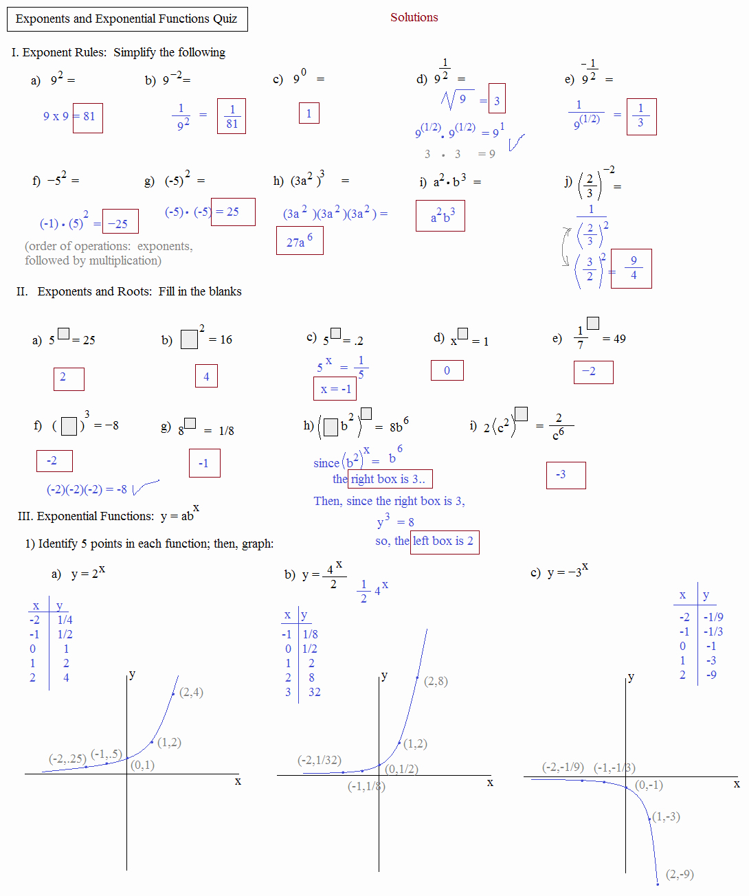Exponential Functions Worksheet Answers Unique solving Exponential and Logarithmic Functions Worksheet