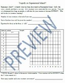 Exponential Growth and Decay Worksheet Awesome Exponential Growth and Decay Worksheet Teaching Resources