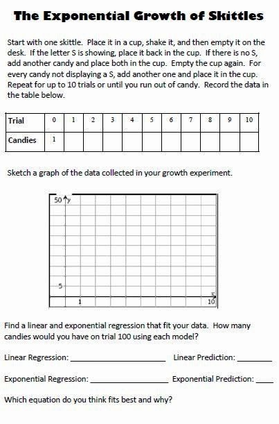 Exponential Growth and Decay Worksheet Elegant Exponential Growth and Decay Worksheet Answer Key