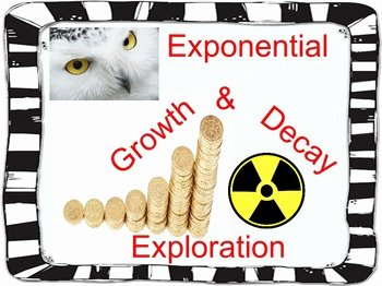 Exponential Growth and Decay Worksheet New Algebra Awesomeness Teaching Resources