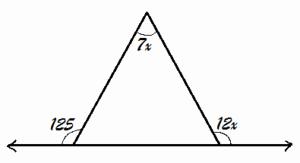 Exterior Angle theorem Worksheet Beautiful Grade 7 Triangle & Its Properties Exterior Angle theorem