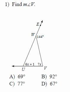 Exterior Angle theorem Worksheet Elegant Exterior Angle theorem Worksheets