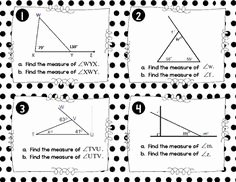 Exterior Angle theorem Worksheet Lovely Pinterest • the World's Catalog Of Ideas