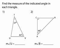 Exterior Angle theorem Worksheet Luxury Angle Sum Property and Exterior Angle theorem