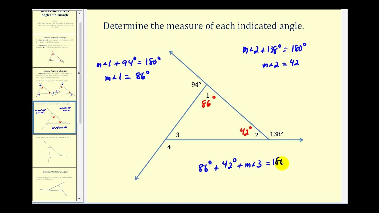 Exterior Angle theorem Worksheet New Introduction to the Interior and Exterior Angles Of A